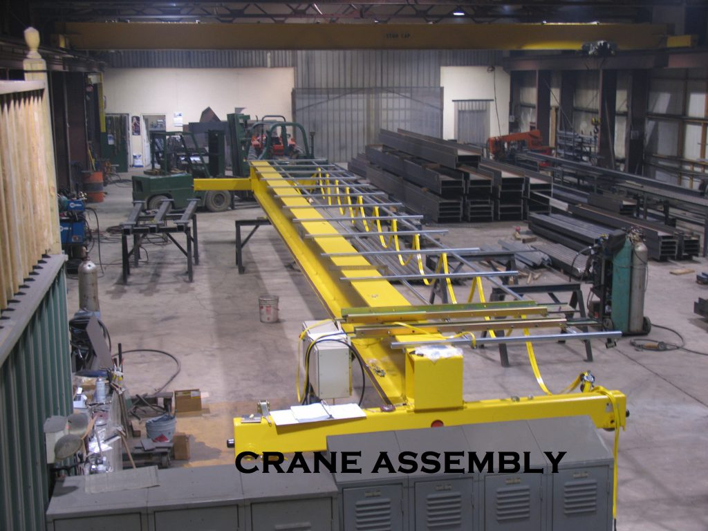 OVERHEAD CRANE ASSEMBLY